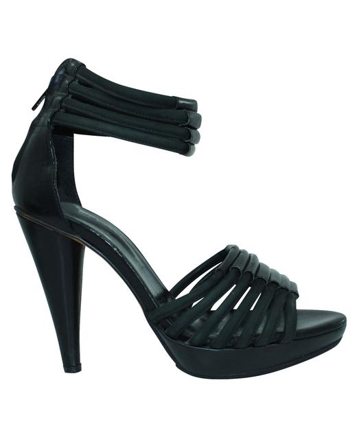 Item - Black -pre Owned Condition Good 38 Sandals