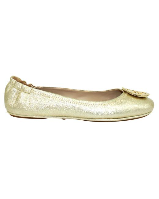 Item - Minnie Gold Ballerinas -pre Owned Condition Good 38.5 Flats