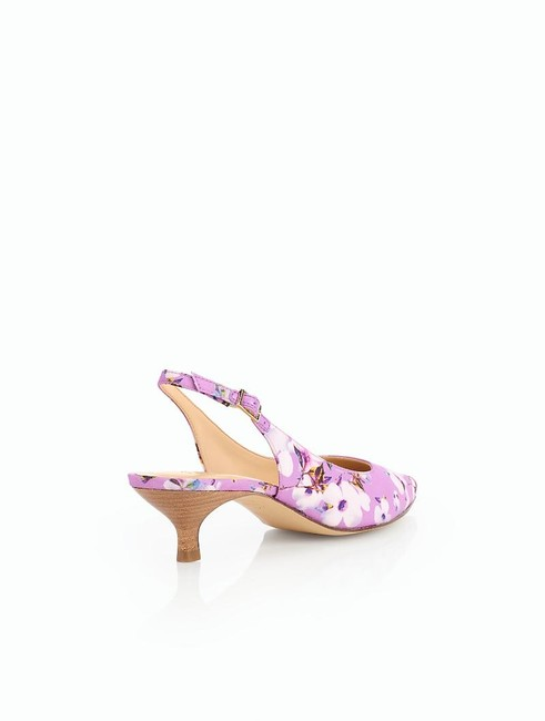 Item - New Pansy Purple Size 8 Pippa Kitten Heels Spring Blossoms Sandals