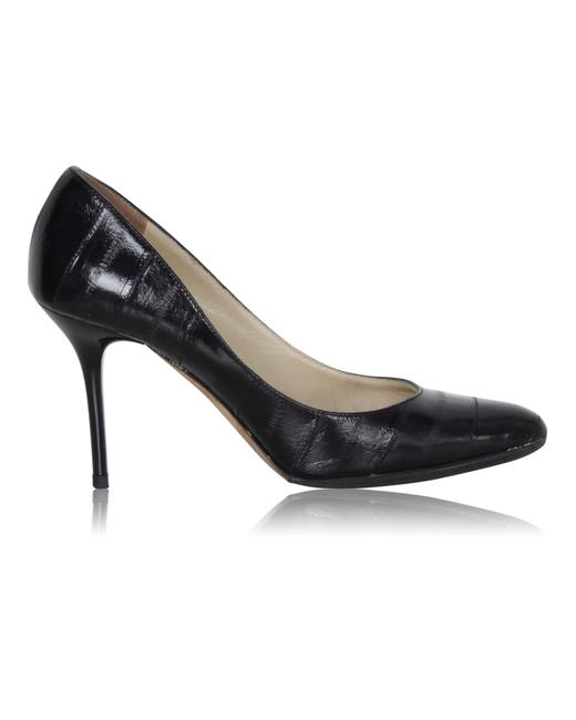 Item - Black Gilbert Pumps -pre Owned Condition Very Good 35.5 Formal