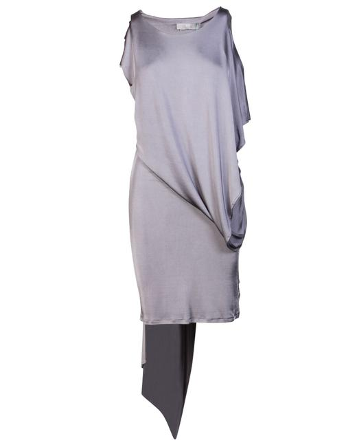 Item - XS Grey Batwing -pre Owned Condition Very Good Cocktail Dress