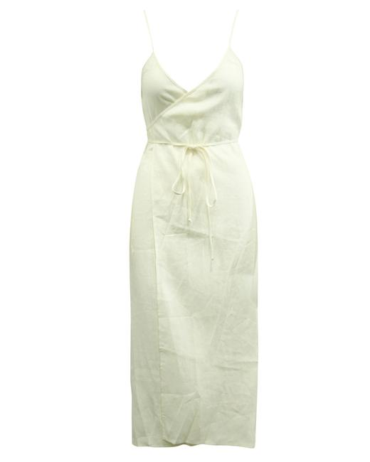 Item - XS Cream Linen -pre Owned Condition Very Good Cocktail Dress