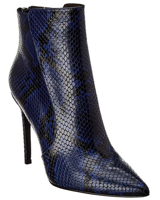 Item - Jovanna Snake-embossed Leather F191115es Boots/Booties
