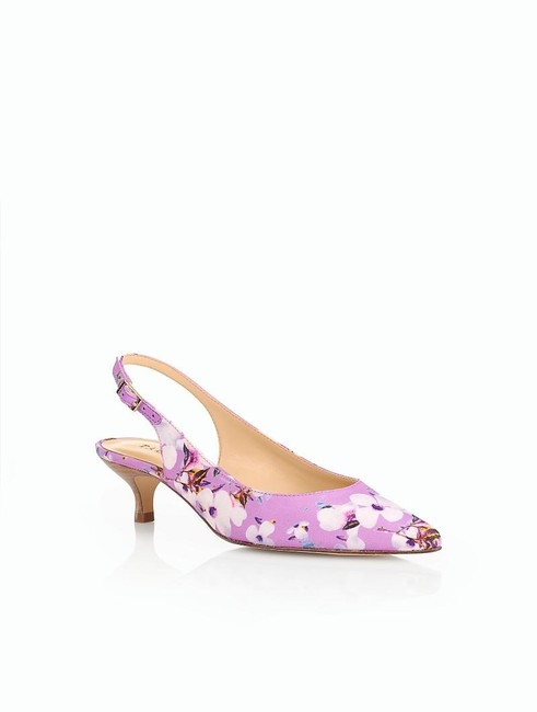 Item - New Pink Women's Size 6.5 Pippa Kitten Heels Spring Blossoms Sandals