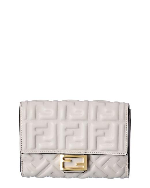 Fendi Ff Leather Continental Wallet 8m0419 Aajd F1c76 Accessory Fendi Ff Leather Continental Wallet 8m0419 Aajd F1c76 Accessory Image 1