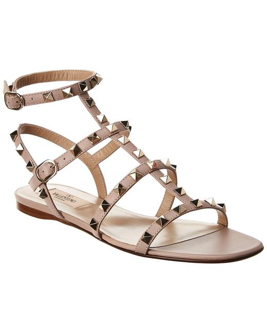 Item - Rockstud Caged Leather Ankle Strap Uw2s0a05 Vod P45 Sandals