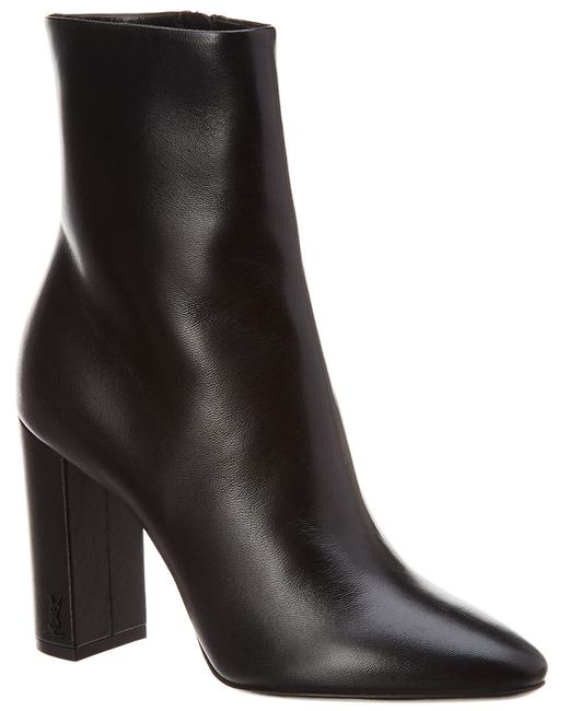 Saint Laurent Lou Leather 527418 0rrvv Boots/Booties 13133994120005 Image 1