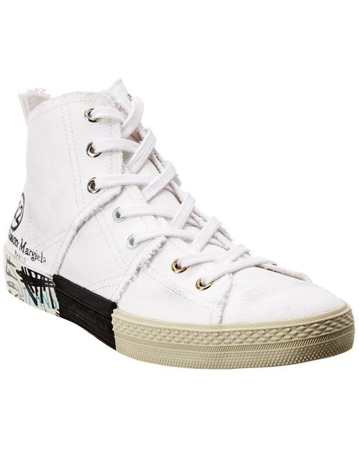 Item - Graffiti Canvas Sneaker S58ws0127 P1875 T1016 Athletic