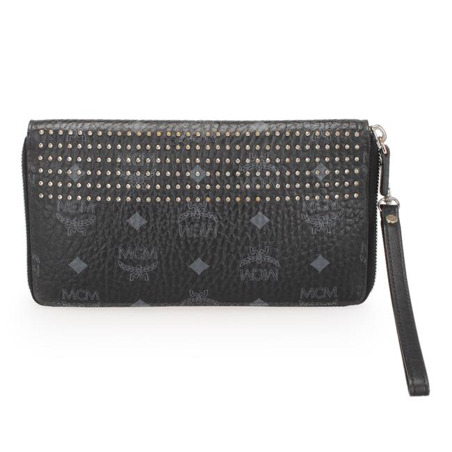 Item - Visetos Studded Leather Wallet