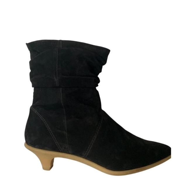 Item - Black Comfortable Leather 40 Boots/Booties