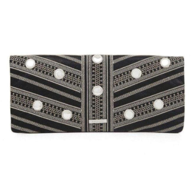 Item - Leather Fold Over Us Clutch