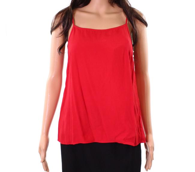 Item - XS Women's Red Size Spaghetti Camisole Back-slit Tank Top/Cami