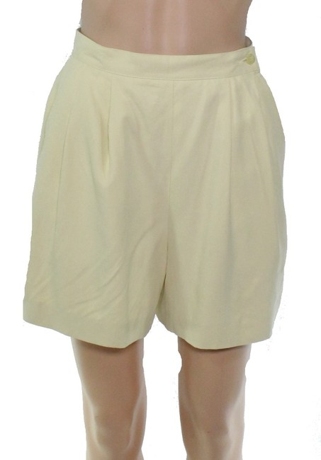 Item - Women's Mini Soft Yellow Size Small S Faux Suede Shorts