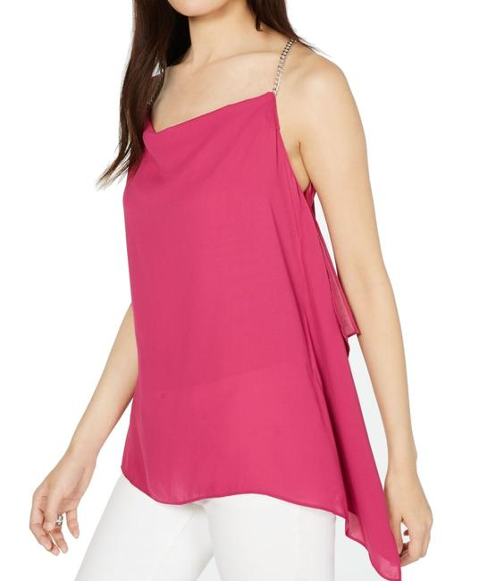 Item - XS Womens Blouse Pink Size Chain Straps Tunic