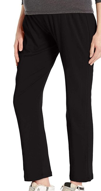 Item - L Women's Black Size Large Slouchy Maternity Pull-on Pants