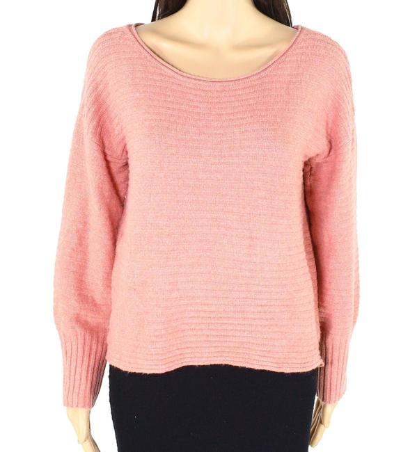 Item - L Women's Salmon Size Large Ribbed Knit Sweater/Pullover