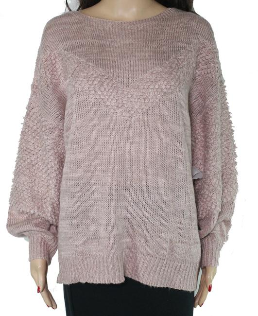 Item - Women's Pink Size Small Knit Ribbed Sweater/Pullover