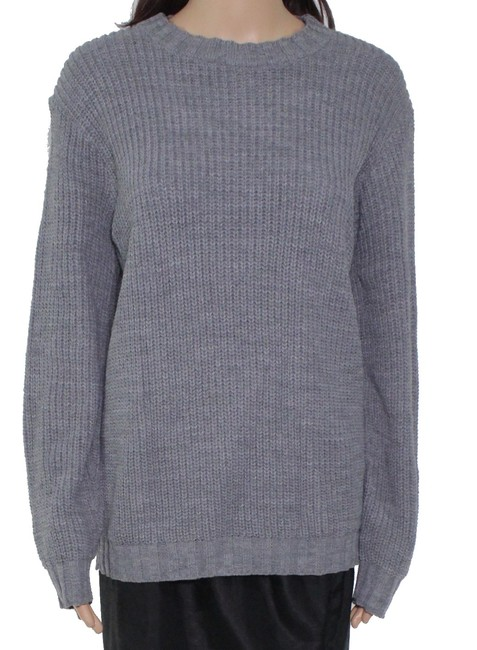 Item - XS Women's Gray Size Braided Knit Sweater/Pullover