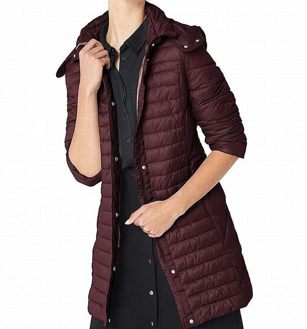 Item - New Red Women's Size Small S Zip Hooded Puffer Jacket