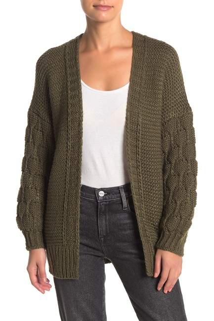 Item - L Women's Olive Green Size Large Knit Cardigan Sweater/Pullover