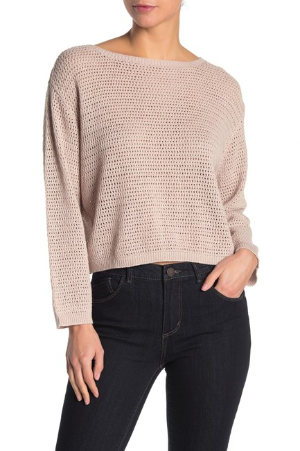 Item - XL Women's Pink Size Open Stitch Knitted Sweater/Pullover
