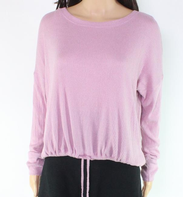 Item - L Women's Lilac Purple Size Large Boat Neck Ribbed Sweater/Pullover