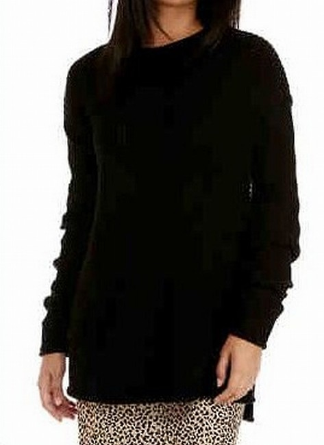 Item - L Women's Black Size Large Ribbed Soft Sweater/Pullover