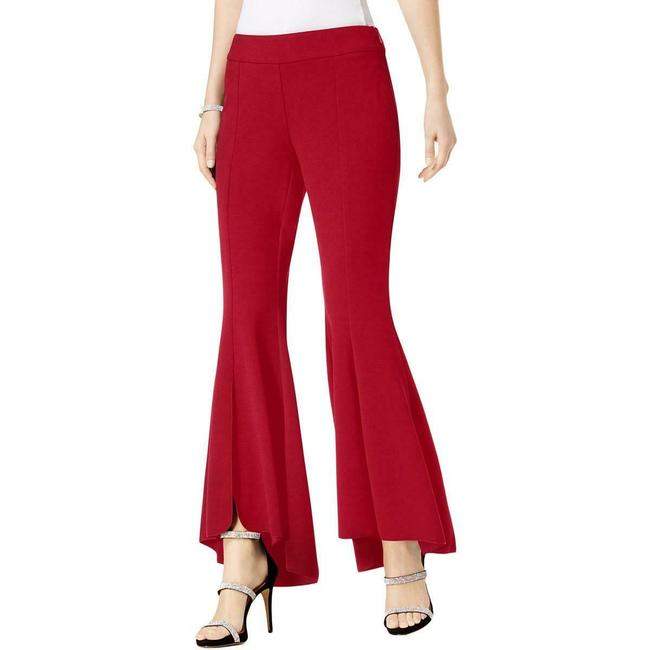 Item - Women's Real Red Size 4 Flare Leg Regular Mid-rise Tulip Pants