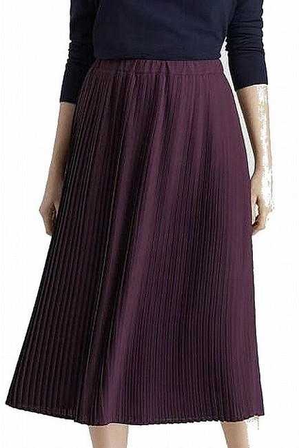 Item - Women's A-line Purple Size 12 Pleated Pull On Cocktail Dress