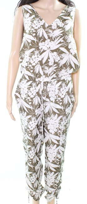Item - By Women's Olive Green Size 2 Tropical Romper/Jumpsuit