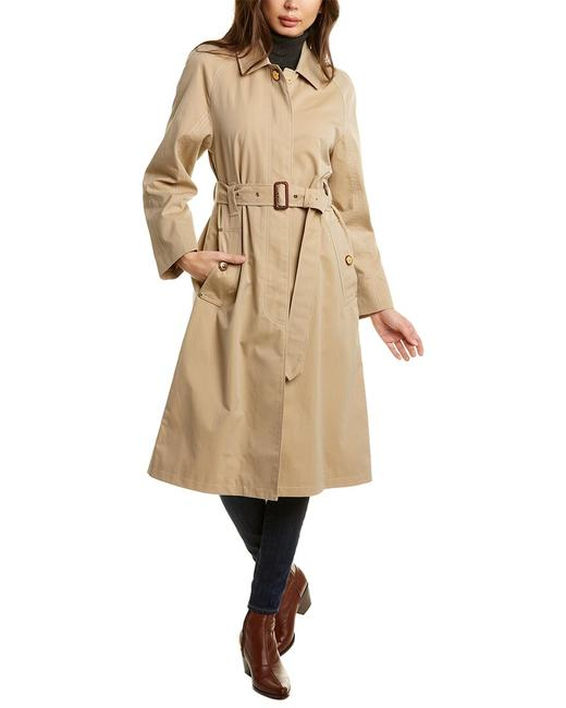 Burberry Tropical Belted Car 8030059 Coat Burberry Tropical Belted Car 8030059 Coat Image 1