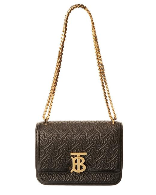 Burberry Small Monogram Quilted Leather 8031730 Shoulder Bag Burberry Small Monogram Quilted Leather 8031730 Shoulder Bag Image 1