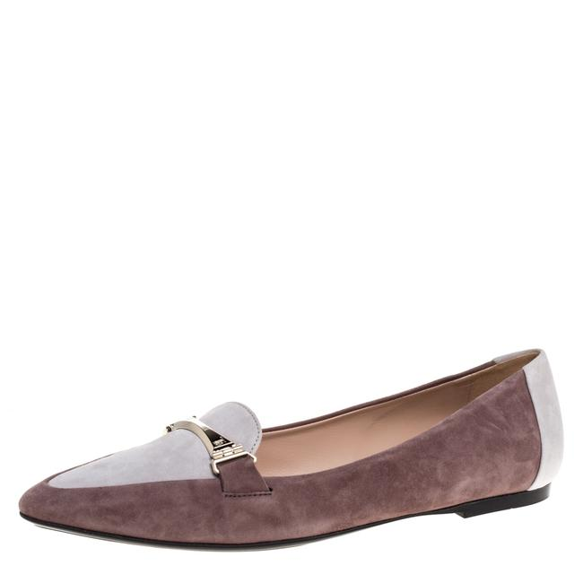 Item - Two Tone Suede Leather Ballet Size 38.5 Flats