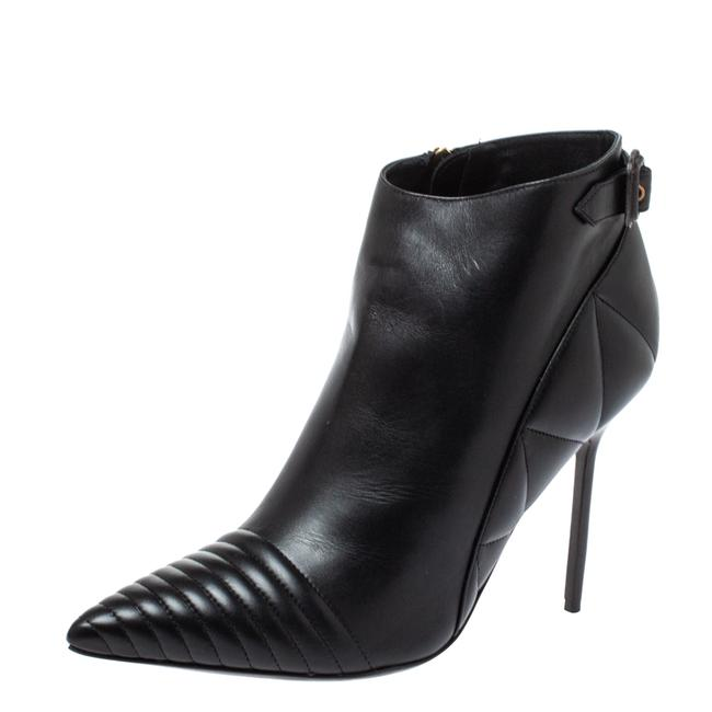 Item - Black Leather Trench Alexandra Ankle Size 40 Boots/Booties