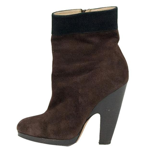 Item - Brown Suede Ankle Size 39 Boots/Booties
