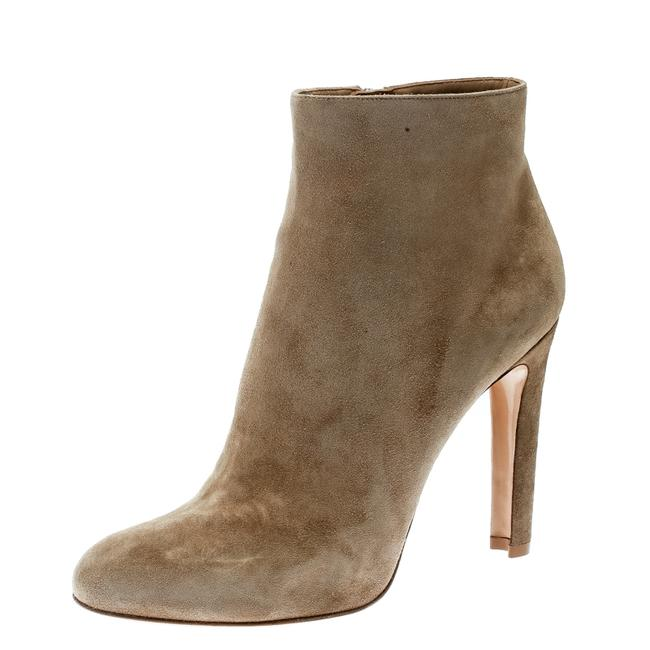 Item - Gianvito Rossi Beige Suede Ankle Size 42 Boots/Booties