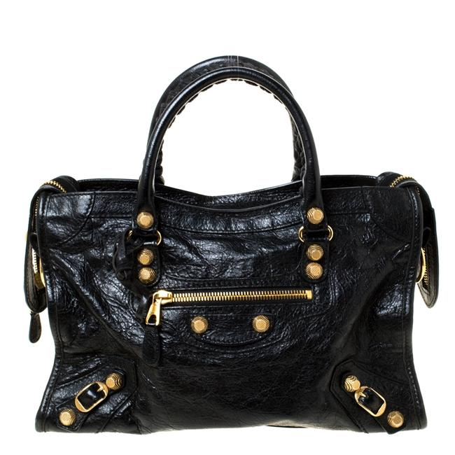 Item - Leather Small City Rh Tote