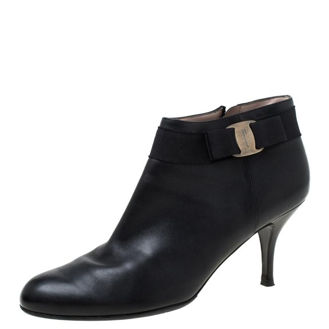 Item - Black Leather Size 41 Boots/Booties