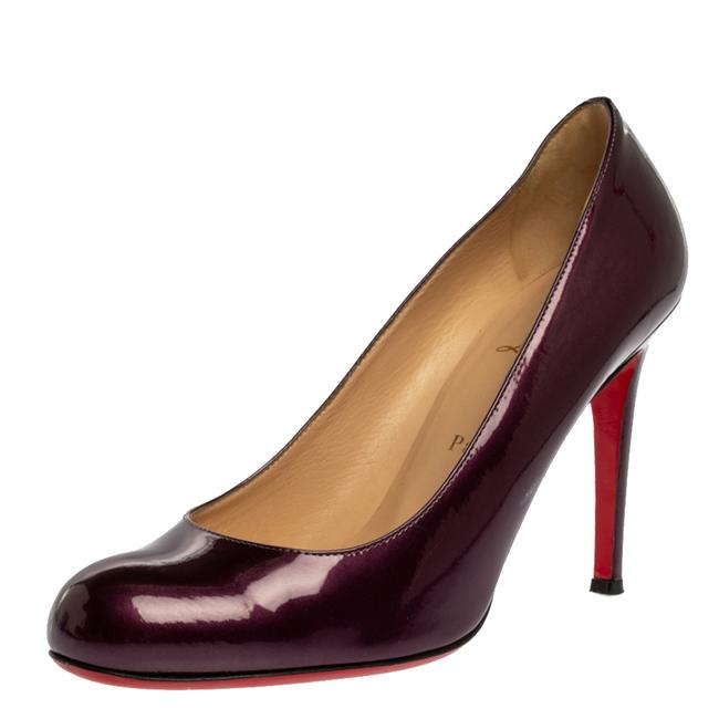 Item - Purple Patent Leather Simple Size 39 Pumps