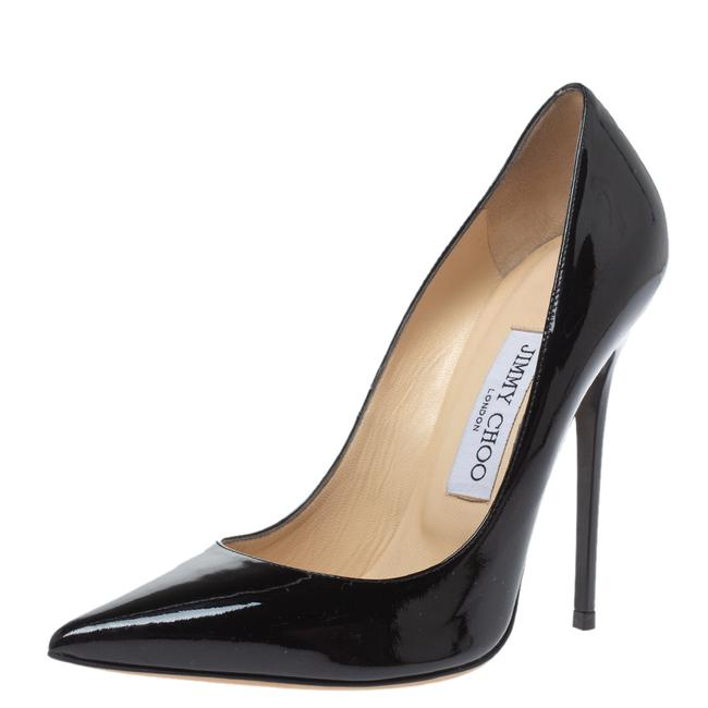 Item - Black Patent Leather Abel Pointed Size 37 Pumps