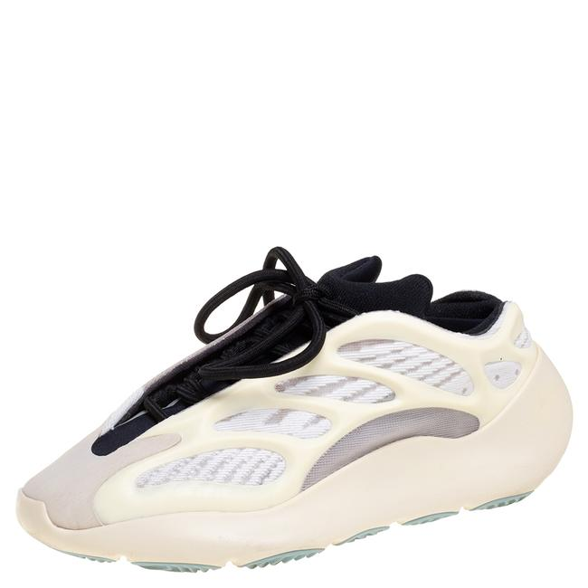 Item - Cream Mesh Nylon and Rubber 700 V3 Azael Sneakers Size 37.5 Athletic