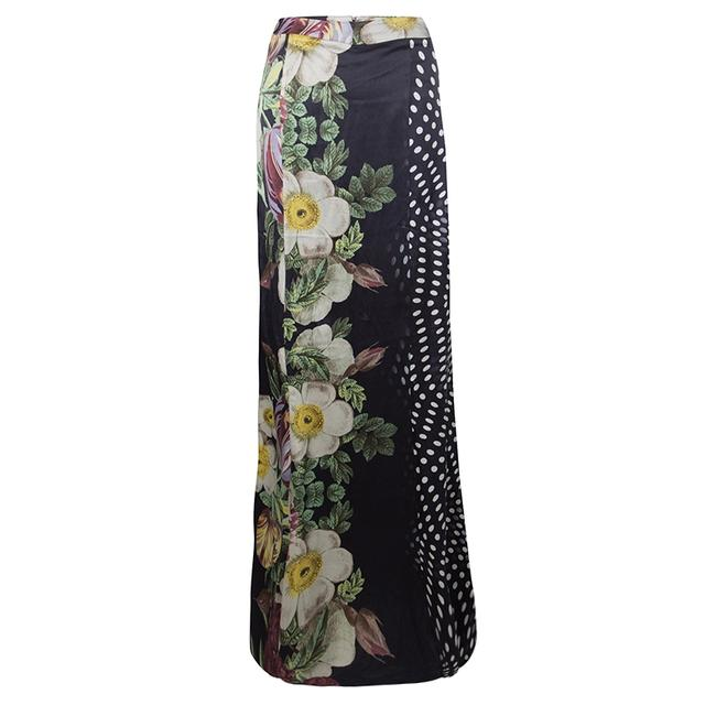Item - XS By Roberto Floral and Polka Dot Print Maxi Skirt
