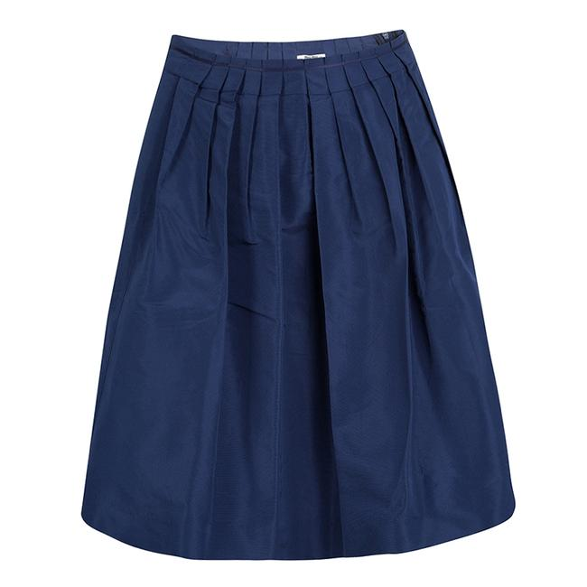 Item - Blue Pleated Skirt