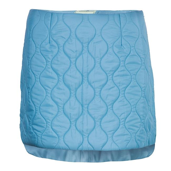 Item - Powder Blue Quilted Mini Skirt