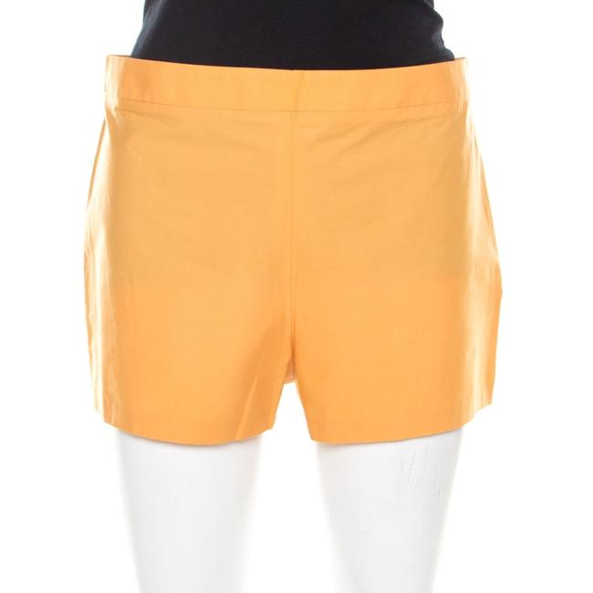 Item - Orange Cotton Stretch Hot Pants M Shorts