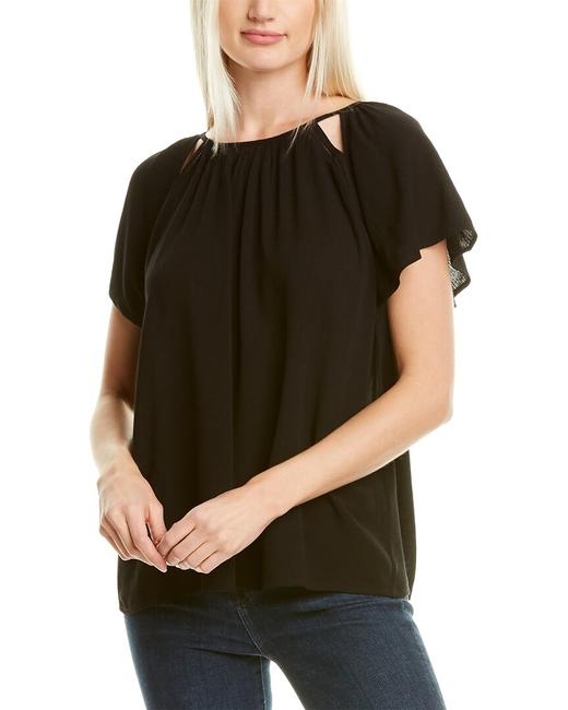 Item - Crinkled Gauze Top 8139039 Blouse