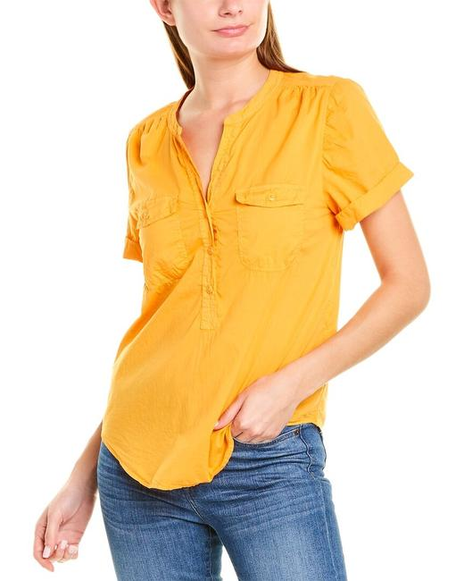 Item - Garment-dyed Popover Shirt An772 Blouse