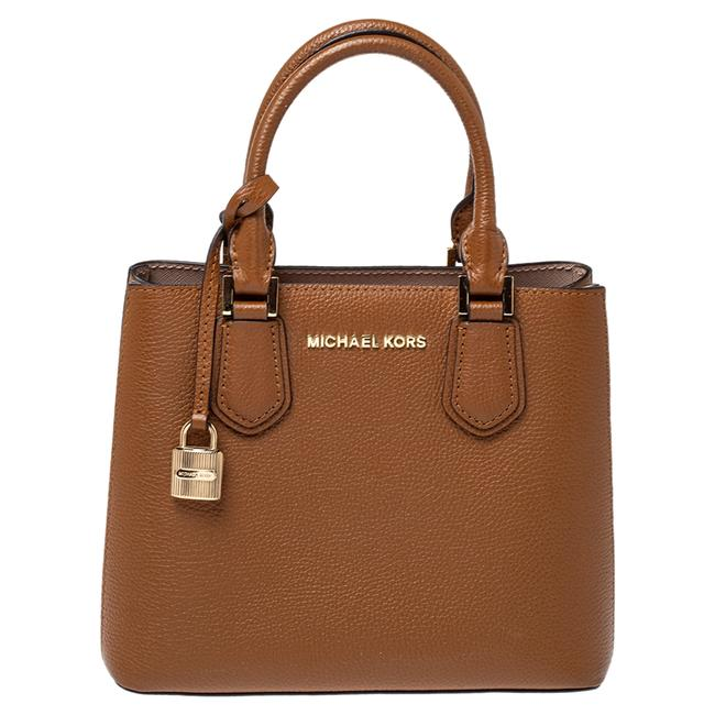 Item - Brown Leather Adele Tote