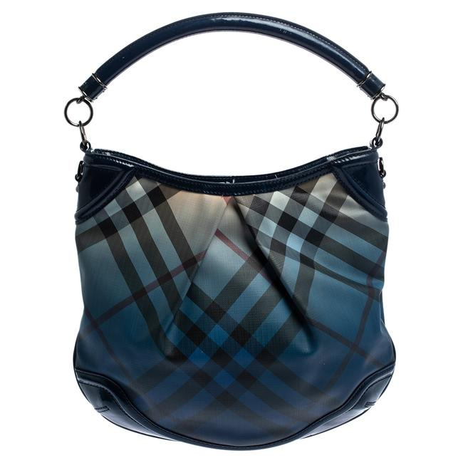 Item - Ombre Nova Pop Check Pvc and Patent Leather Craigwell Hobo Bag