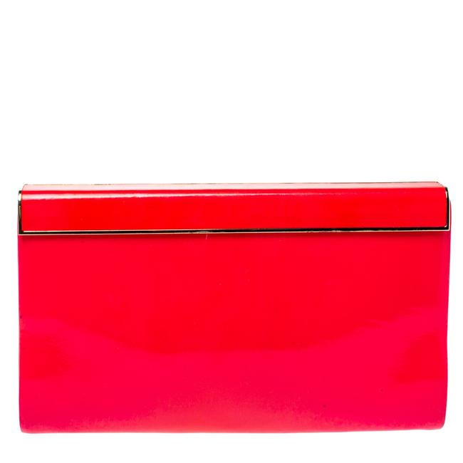 Item - Neon Pink Patent Leather Cayla Clutch